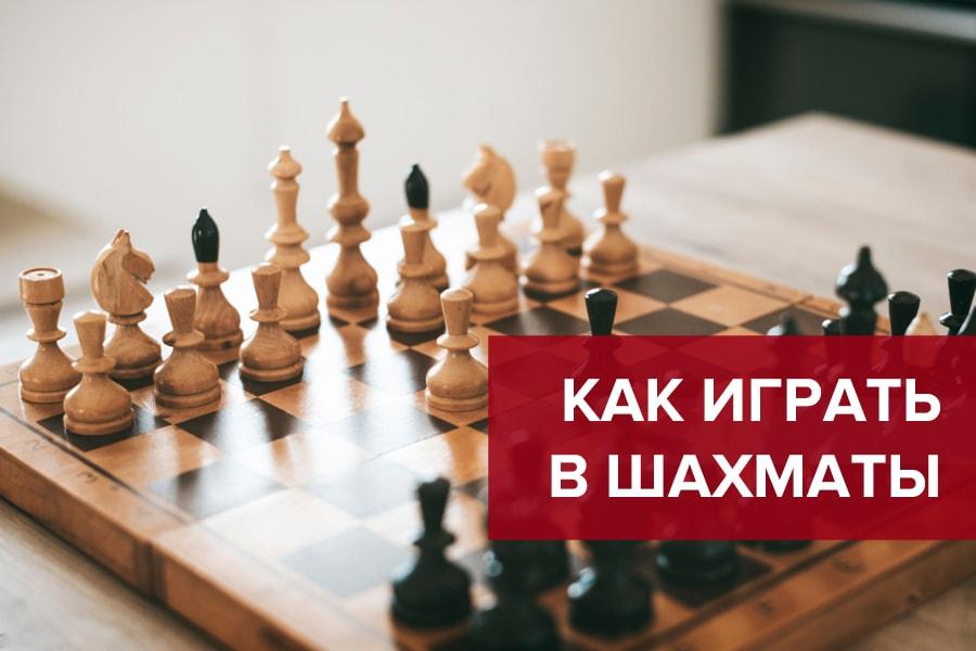 Как играть в шахматы — правила шахмат для новичков