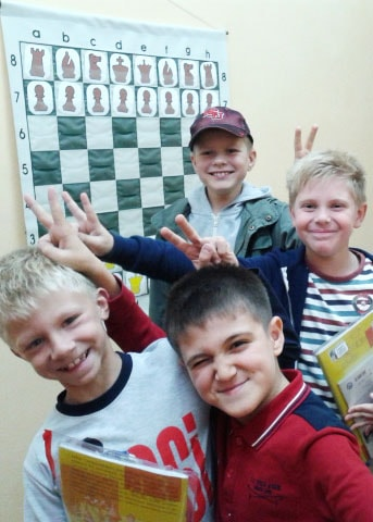 Our pupils from Russia